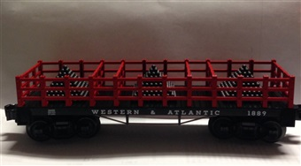 Western & Pacific Cannonball Flatcar